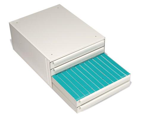 Tissue cartridge cabinet