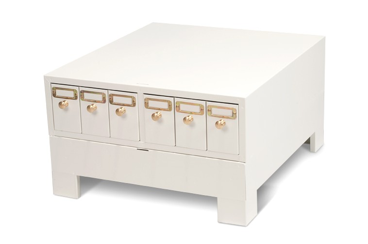 Microscope slide storage cabinet and base unit